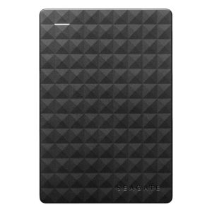 Seagate 1TB Expansion 2.5-Inch Portable Drive – Black – STEA1000400 + Free Portable Hard Disk Pouch (Random Colour)
