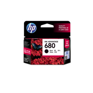 HP 680 Black/Tri-color Original Ink Advantage Cartridge