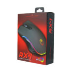 Gaming Freak RX-1 RGB Effect Gaming Mouse (6400dpi) USB – Black GFM-RX1