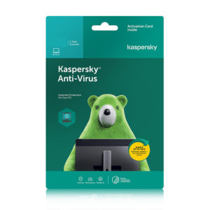 Kaspersky Anti-Virus 2020 1 Year License 1/3/5 Devices- KL11714UAMY/ KL11714UCMY/KL11714UEMY