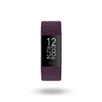 Fitbit Charge 4 Wearables Fitness & Activity Trackers Black/ Rosewood/ Storm Blue