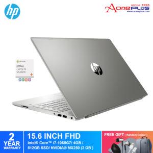HP Pavilion 15-cs3137TX/ 15-cs3136TX Notebook 1Q280PA/ 1Q279PA/ i7-1065G7/4GB/512GB SSD/NV MX250-4GB/15.6-Inch/Win 10+Free Premium Gift