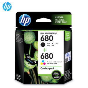 HP 680 Combo Black/Tri-color Original Ink Advantage Cartridges X4E78AA/ X4E79AA – Tri-Color