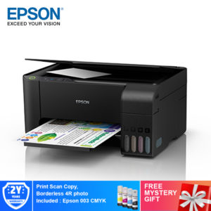 Epson EcoTank L3110 All-in-One Ink Tank Printer+Free Mystery Gift