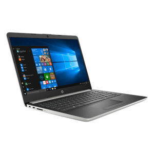 HP 14s-dk0106AU Notebook Natural Silver 8DS83PA/ AMDA4-9125/4GB/128GB SSD/14-Inch/Win10+Free Premium Gift