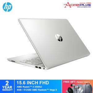 HP 15s-eq0067AU/ 15s-eq0068AU Notebook 9WD89PA/ 9WF24PA/ AMD Ryzen 5/4GB/512GB SSD/AMD Radeon Vega 8/15.6-Inch/Win 10+Free Premium Gift
