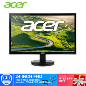 Acer 24-Inch K242HQL Full-HD 5ms HDMI Monitor UM.UX2SM.001