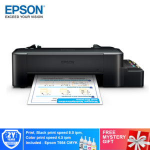 Epson L120 Ink Tank Printer Free Mystery Gifts
