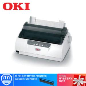 Oki ML1190 Plus 24 PIN DOT MATRIX PRINTERS – 43516924