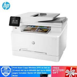 HP M283FDN Color LaserJet Pro Multi Function Printer – 7KW74A [Print, Scan, Copy, Fax, Duplex, Network, ePrint, Wifi Direct]