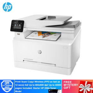 HP M283FDW Color LaserJet Pro Multi Function Printer – 7KW75A [Print, Scan, Copy, Fax, Duplex, Network, Wireless, ePrint, Wifi Direct]