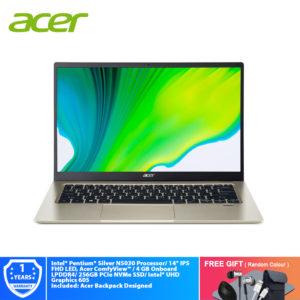 "Acer Swift 1 SF114-33-P7XA 14"" FHD/ Intel® Pentium®"
