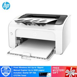 HP M12w Mono LaserJet Pro  Printer – T0L46A [Print,