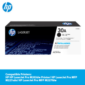 HP 30A Black LaserJet Toner Cartridge – CF230A