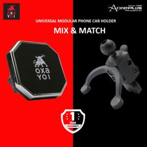 Oxayoi Mix And Match Universal Modular Car Phone Holder