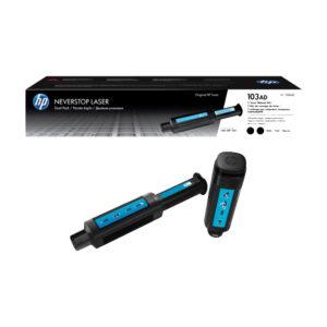 HP 103AD Dual Pack Black Original Neverstop Laser Toner