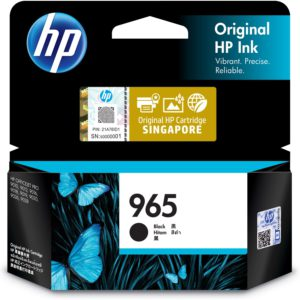 HP 965 Original CMYK Ink Cartridge – Black (3JA80AA)/ Cyan (3JA77AA)/ Magenta (3JA78AA)/ Yellow (3JA79AA)