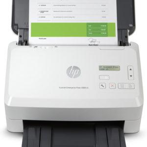 HP 5000 s5 ScanJet Enterprise Flow with Sheet-Feed Scanner-